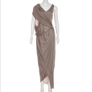 NEW Helmut Lang Draped dress